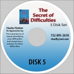 Audio Book on CD The Secret of Difficulties: 4 Steps to Turn Tragedies into Opportunities